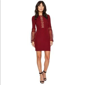 Romeo and Juliet Couture Lace Sleeve Dress